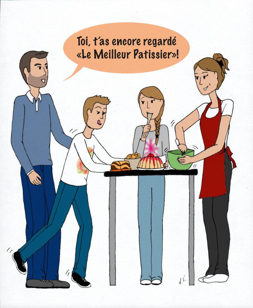gourmandise, patissier, gâteaux, émissions culinaires