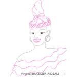 Femme Créole-Format A4