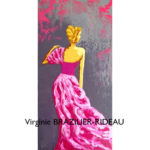 Silhouette Couture Rose-30x60