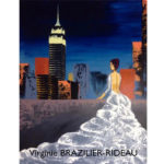 Silhouette sur Empire State Building-65x81