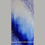 Abstrait Bleu 649-30x60