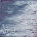 Abstrait Gris Pailleté Rose 399-20X20