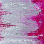Abstrait Rose 399-40x40