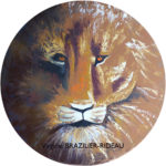 Lion-Ø80cm